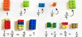 Zseniális ötlet: Ilyen az, amikor LEGO-val tanítják a gyereket a törtekre