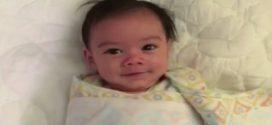 Legyalulja az internetet az 5 hónapos baba bájos ébredése