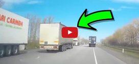 Ez történik, mikor vezetés közben elalszik egy kamionos