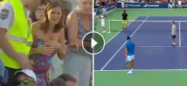 Egy anya kétségbeesetten keresi lányát a teniszmeccsen. Rafael Nadal gesztusa csodálatos.