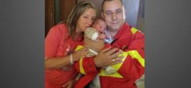 Saját fia születéséhez hívták ki a mentőst