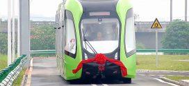 Búcsúzz el a vasúti sínektől! Kína egy olyan villamossal büszkélkedik ami virtuális vasúton fut.