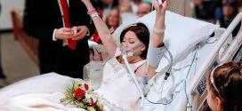 Néhány órát élhetett feleségként: Az esküvő volt az utolsó kívánsága