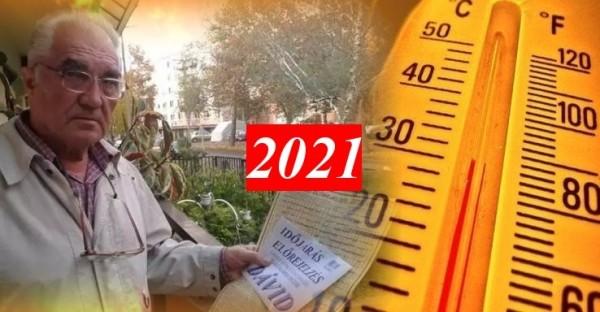ITT a nagy DÁVID NAPTÁR a 2021. évre! Megdöbbentő nyarunk lesz: